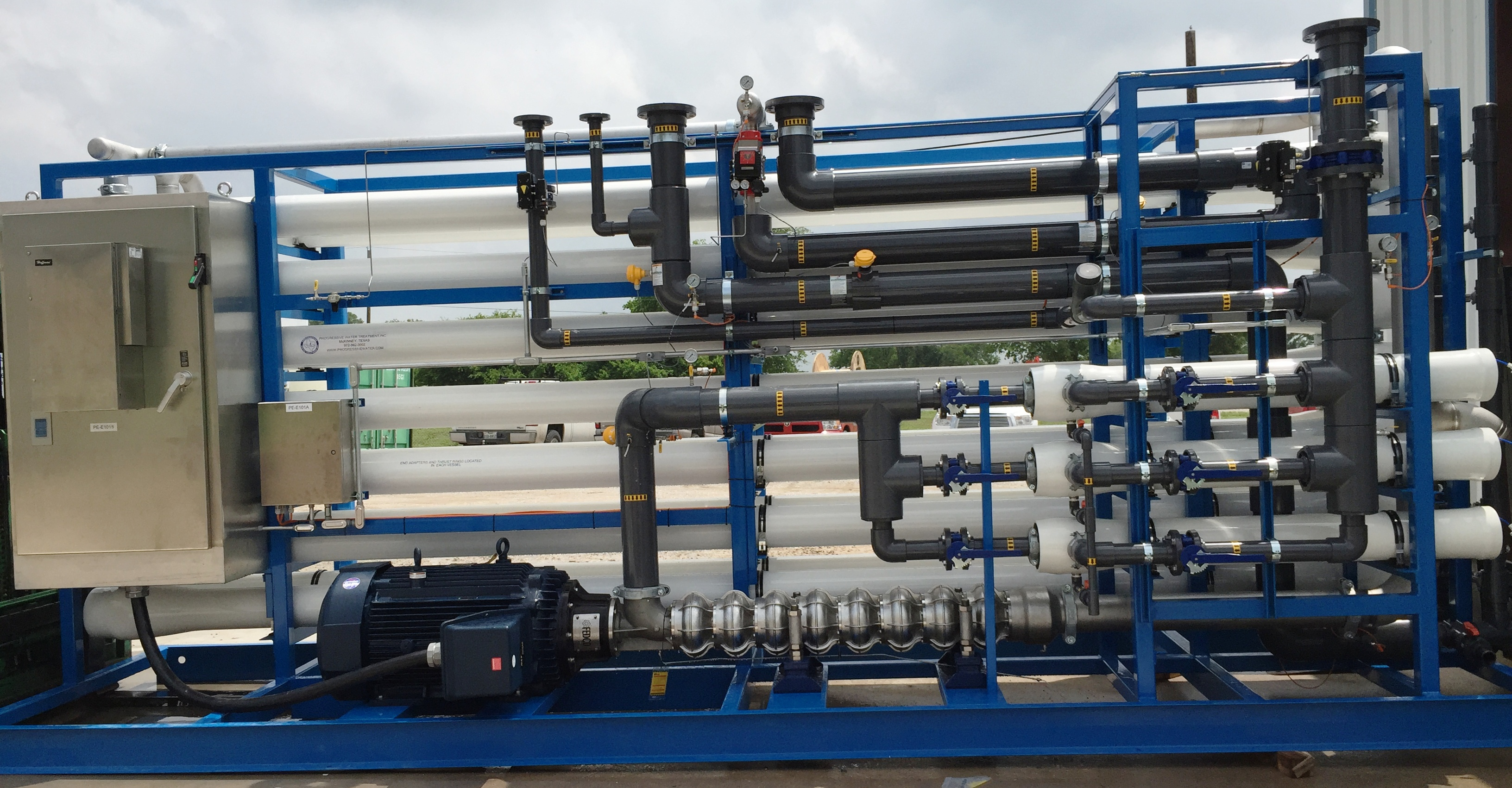 Sea Water Reverse Osmosis Systems Progressive Water Treatment